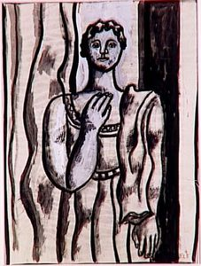 Fernand Leger - Study for a Portrait