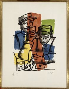 Fernand Leger - Soldiers