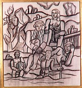 Fernand Leger - Study for the Party Campaign