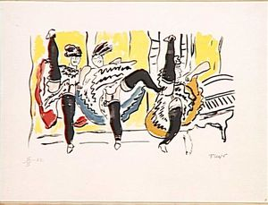 Fernand Leger - The Cancan