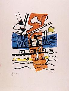 Fernand Leger - The tug