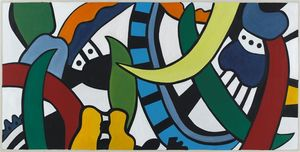 Fernand Leger - Project for a mural Vulcania