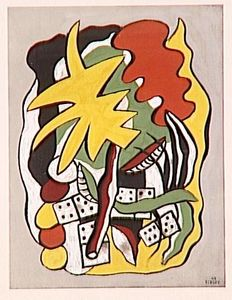 Fernand Leger - Composition dominoes