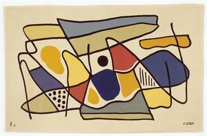 Fernand Leger - Mural, mural or composition, or abstract composition