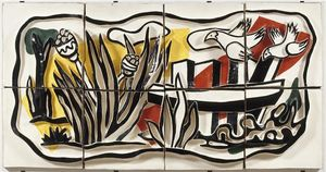 Fernand Leger - The birds in the landscape