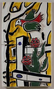 Fernand Leger - The bird and flower
