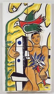 Fernand Leger - Children in the bird