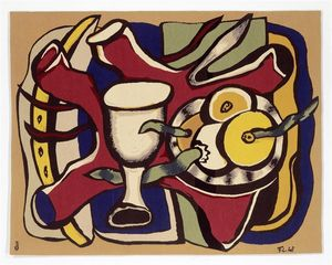 Fernand Leger - Still Life with Apples