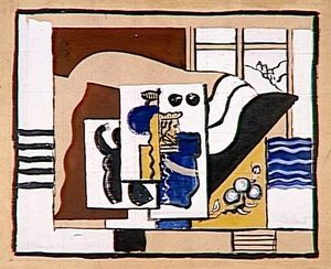Fernand Leger - The King of cards