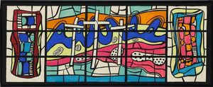 Fernand Leger - Audincourt window