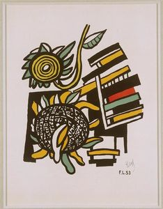 Fernand Leger - Both Sunflowers (Sunflowers)