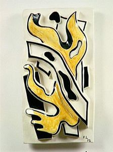 Fernand Leger - The yellow flame