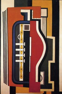 Fernand Leger - Accordion