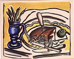 Fernand Leger - Still Life with Blue Vase (the roosbeef)