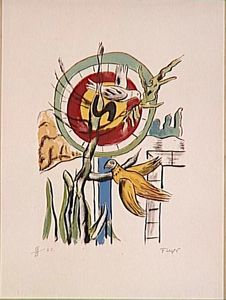 Fernand Leger - Both birds