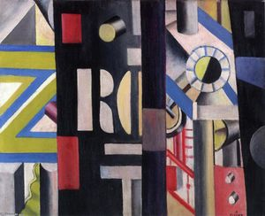 Fernand Leger - The Station