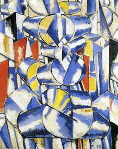 Fernand Leger - Contrast of forms