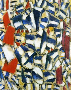 Fernand Leger - Contrast of form