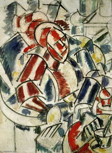 Fernand Leger - The Woman with the armchair