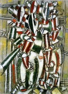 Fernand Leger - The Balcony