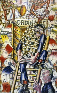 Fernand Leger - The proof that the Man descent monkey