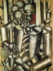 Fernand Leger - Soldier with a pipe