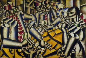 Fernand Leger - The part of Chart