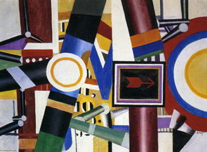 Fernand Leger - The level crossing (final state)