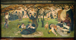Ford Madox Brown - Chetham's Life Dream