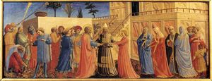 Fra Angelico - Marriage of the Virgin