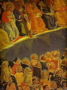 Fra Angelico - The Last Judgement. Detail: The Blessed