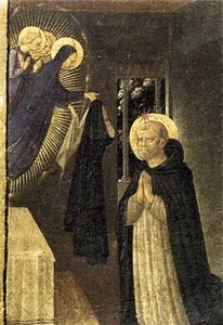 Fra Angelico - The Virgin Consigns the Habit to St Dominic