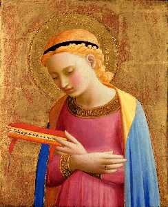 Fra Angelico - Virgin Mary Annunciate