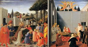 Fra Angelico - The Story of St. Nicholas