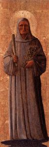 Fra Angelico - St. Bernard of Clairvaux