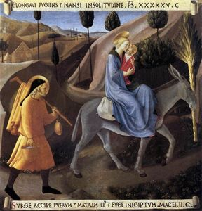 Fra Angelico - Flight into Egypt
