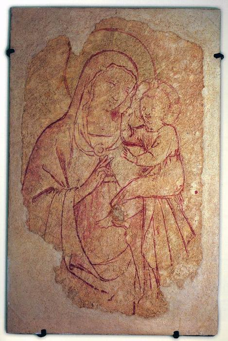 Virgin and Child, 1435 by Fra Angelico (1395-1455, Italy)
