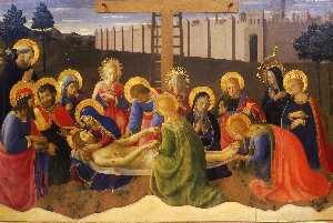 Fra Angelico - Lamentation over Christ