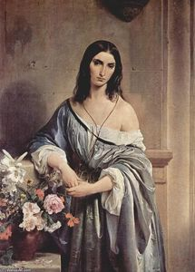 Francesco Hayez - Melancholic Thoughts