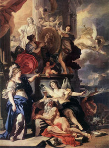Francesco Solimena - Allegory of a Reign