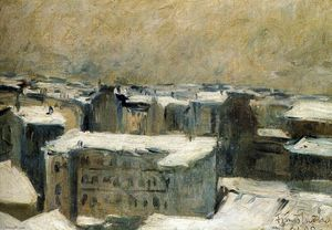 Francis Picabia - Roofs of Paris