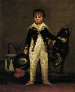 Francisco De Goya - Pepito Costa and Bonells