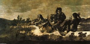 Francisco De Goya - Atropos (The Fates)