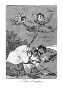 Francisco De Goya - All will fall