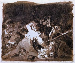 Francisco De Goya - War scene