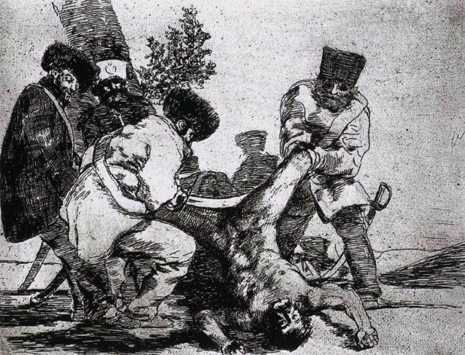 What more can one do?, 1815 by Francisco De Goya (1746-1828, Spain) | Museum Quality Copies Francisco De Goya | WahooArt.com