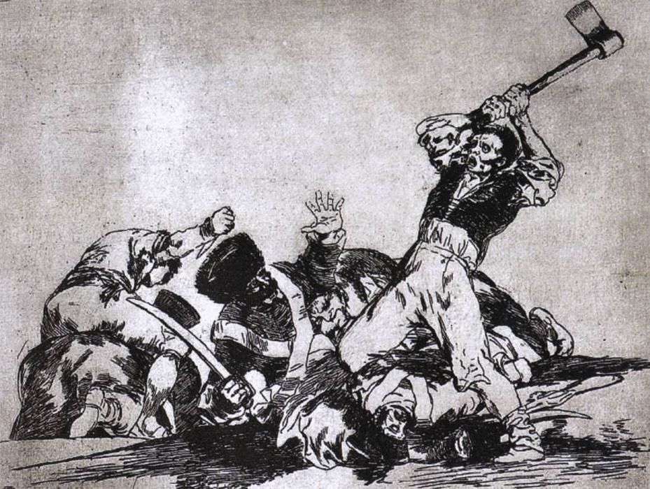 The same, 1815 by Francisco De Goya (1746-1828, Spain) | Oil Painting | WahooArt.com