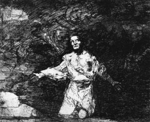 Francisco De Goya - Sad forebodings of what is to come