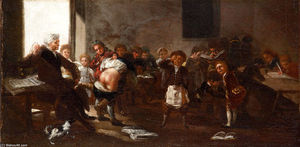 Francisco De Goya - The school scene
