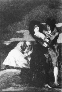 Francisco De Goya - Birds of a Feather